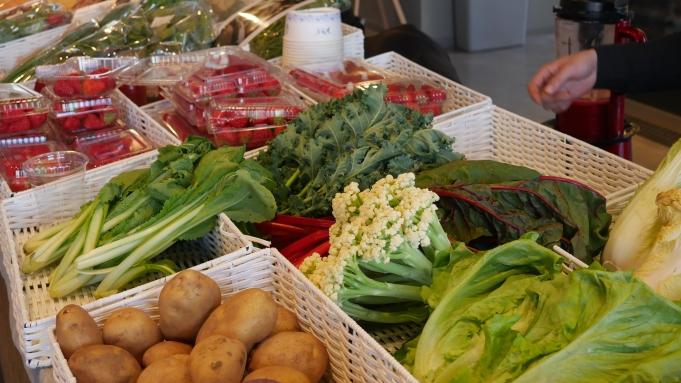 Des produits sains et de saison